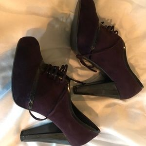 Miss Selfridge Platform Laced Heels, Size 8/39